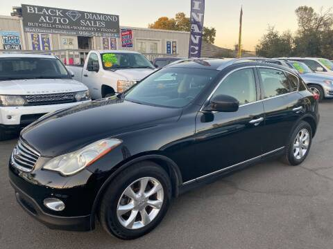 2009 Infiniti EX35 for sale at Black Diamond Auto Sales Inc. in Rancho Cordova CA