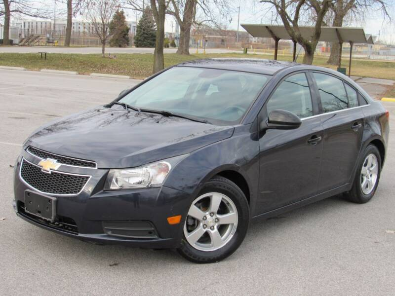 2014 Chevrolet Cruze for sale at Highland Luxury in Highland IN
