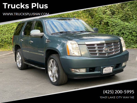 2008 Cadillac Escalade for sale at Trucks Plus in Seattle WA