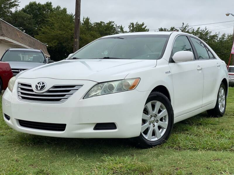 2009 Toyota Camry Hybrid for sale at Texas Select Autos LLC in Mckinney TX