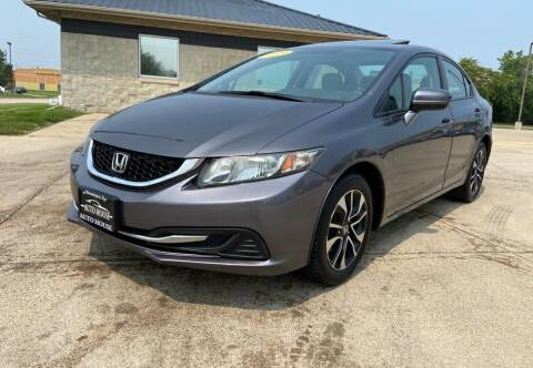 2015 Honda Civic for sale at Auto House of Bloomington in Bloomington IL