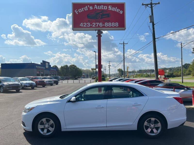 2015 Chevrolet Malibu for sale at Ford's Auto Sales in Kingsport TN