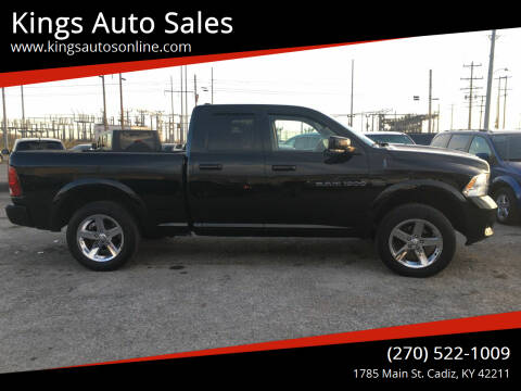 2012 RAM Ram Pickup 1500 for sale at Kings Auto Sales in Cadiz KY