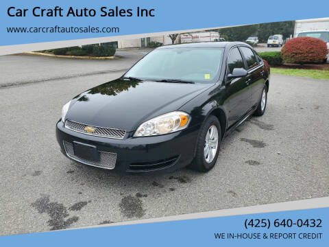 2016 Chevrolet Impala Limited for sale at Car Craft Auto Sales Inc in Lynnwood WA