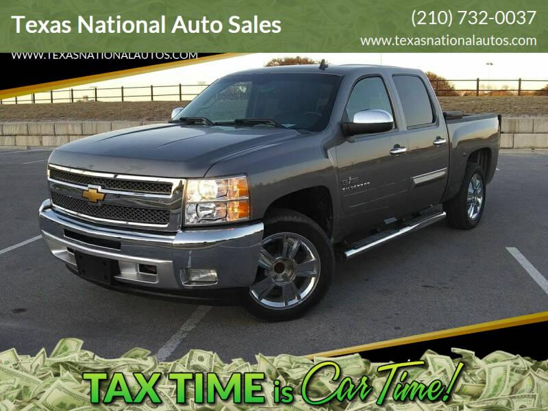 2013 Chevrolet Silverado 1500 for sale at Texas National Auto Sales in San Antonio TX