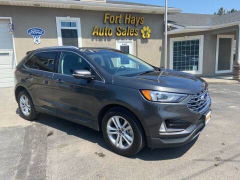 2020 Ford Edge for sale at Fort Hays Auto Sales in Hays KS