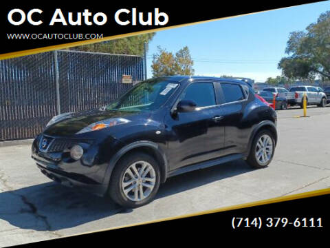 2013 Nissan JUKE for sale at OC Auto Club in Midway City CA