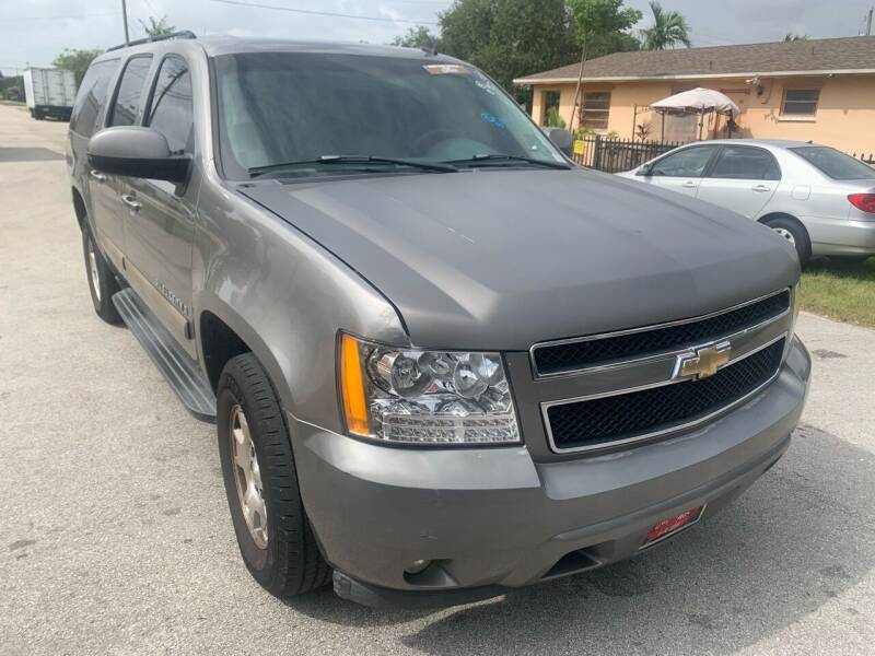 2008 Chevrolet Suburban for sale at Eden Cars Inc in Hollywood FL