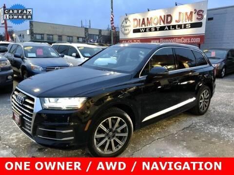 2018 Audi Q7 for sale at Diamond Jim's West Allis in West Allis WI
