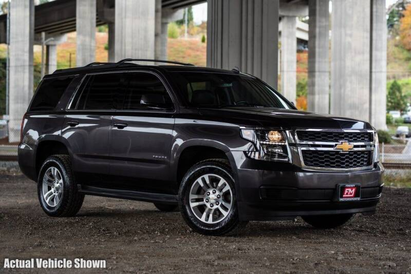 2015 Chevrolet Tahoe for sale at Friesen Motorsports in Tacoma WA