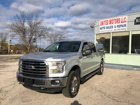 2015 Ford F-150 for sale at United Motors LLC in Saint Francis WI