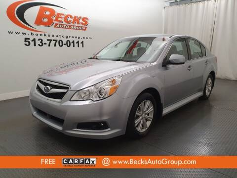2012 Subaru Legacy for sale at Becks Auto Group in Mason OH