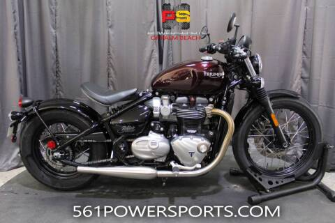 2017 Triumph Bonneville Bobber for sale at Powersports of Palm Beach in Hollywood FL
