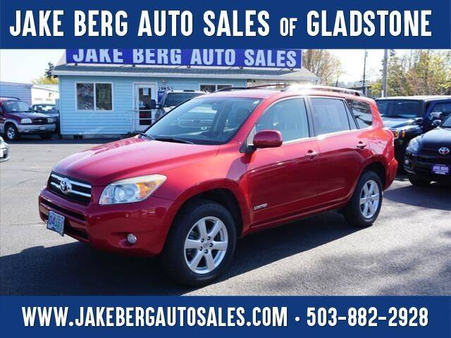 2006 Toyota RAV4 for sale at Jake Berg Auto Sales in Gladstone OR
