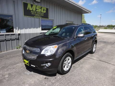 2013 Chevrolet Equinox for sale at Moss Service Center-MSC Auto Outlet in West Union IA