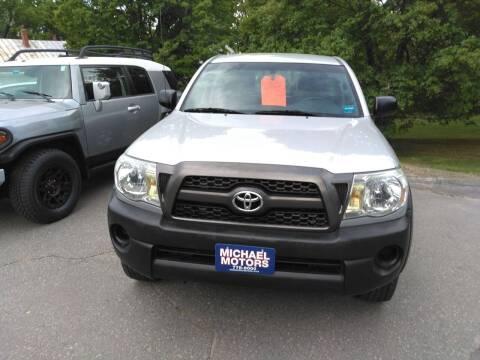 2011 Toyota Tacoma for sale at MICHAEL MOTORS in Farmington ME