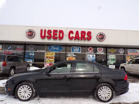 2010 Ford Fusion Hybrid for sale at Ford Road Motor Sales in Dearborn MI