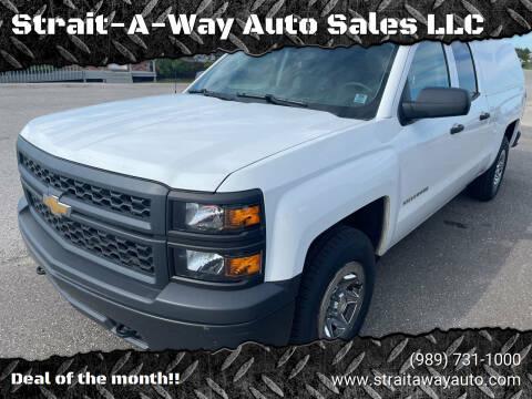 2014 Chevrolet Silverado 1500 for sale at Strait-A-Way Auto Sales LLC in Gaylord MI