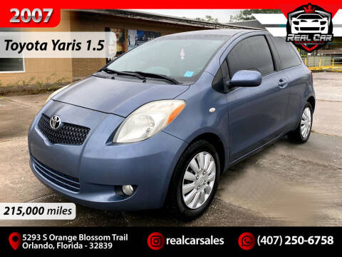 2007 Toyota Yaris for sale at Real Car Sales in Orlando FL