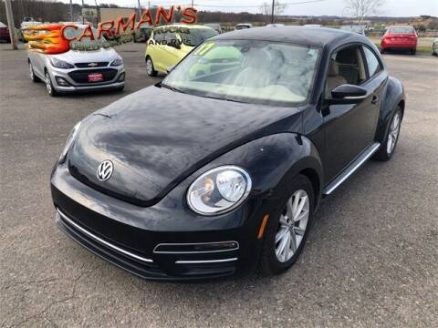2017 Volkswagen Beetle for sale at Carmans Used Cars & Trucks in Jackson OH