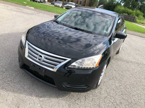 2014 Nissan Sentra for sale at Supreme Auto Gallery LLC in Kansas City MO