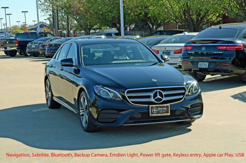 2018 Mercedes-Benz E-Class for sale at Silver Star Motorcars in Dallas TX