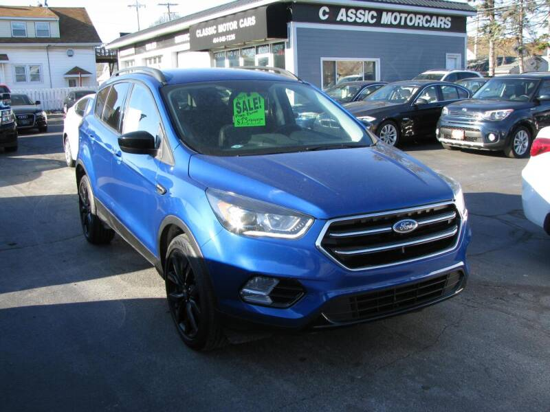 2017 Ford Escape for sale at CLASSIC MOTOR CARS in West Allis WI