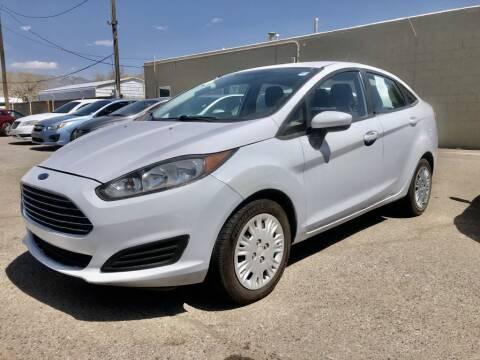 2016 Ford Fiesta for sale at Top Gun Auto Sales, LLC in Albuquerque NM