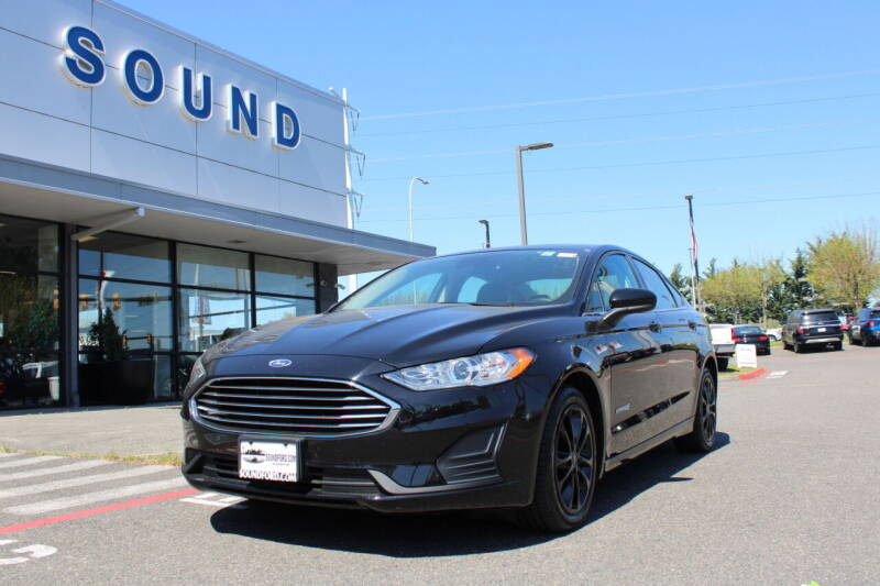 2019 Ford Fusion Hybrid for sale in Renton, WA