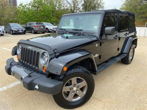 2013 Jeep Wrangler Unlimited for sale at Crown Auto Group in Falls Church VA