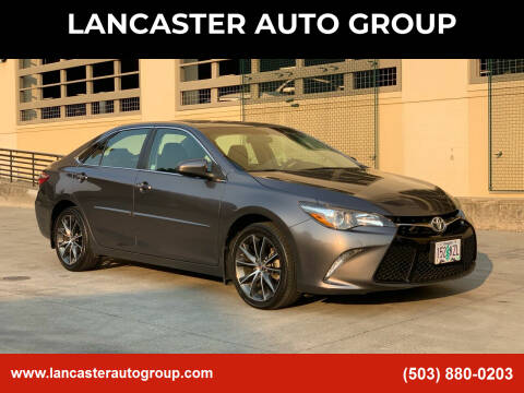 2016 Toyota Camry for sale at LANCASTER AUTO GROUP in Portland OR