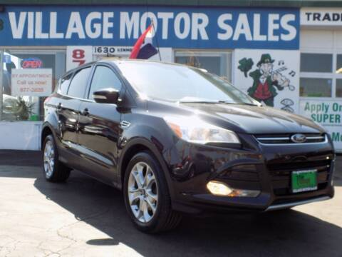 2013 Ford Escape for sale at Village Motor Sales in Buffalo NY