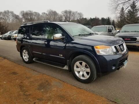 2008 Nissan Armada for sale at Shores Auto in Lakeland Shores MN