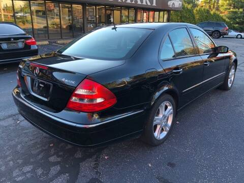 2004 Mercedes-Benz E-Class for sale at Premier Automart in Milford MA