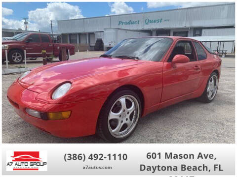 1994 Porsche 968 for sale at A7 AUTO SALES in Daytona Beach FL