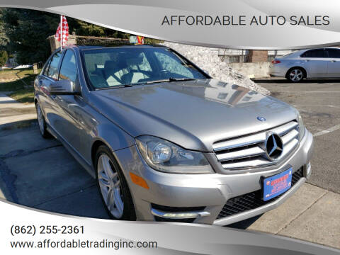 2012 Mercedes-Benz C-Class for sale at Affordable Auto Sales in Irvington NJ