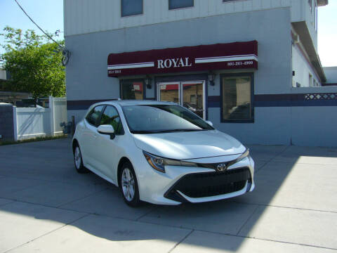 2019 Toyota Corolla Hatchback for sale at Royal Auto Inc in Murray UT