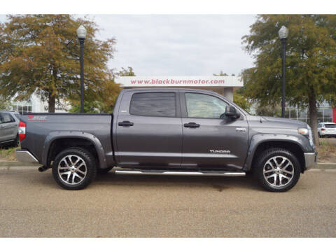 2018 Toyota Tundra for sale at BLACKBURN MOTOR CO in Vicksburg MS