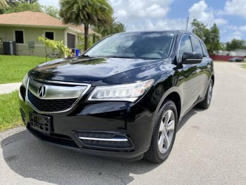 2015 Acura MDX for sale at CAR UZD in Miami FL
