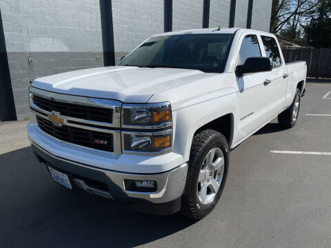2014 Chevrolet Silverado 1500 for sale at APX Auto Brokers in Lynnwood WA