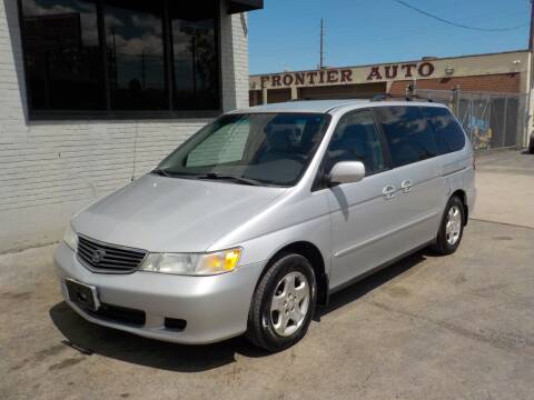 2001 Honda Odyssey for sale at FAIRWAY AUTO SALES, INC. in Melrose Park IL