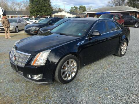 2009 Cadillac CTS for sale at LAURINBURG AUTO SALES in Laurinburg NC