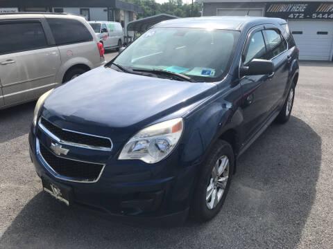 2010 Chevrolet Equinox for sale at RACEN AUTO SALES LLC in Buckhannon WV