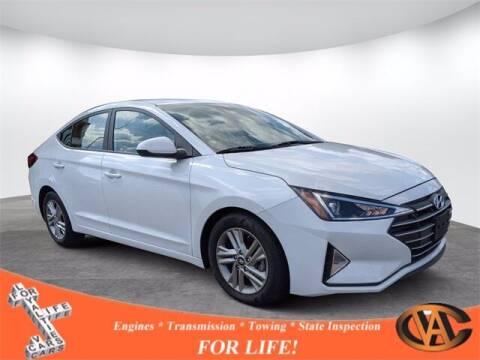 2020 Hyundai Elantra for sale at VA Cars Inc in Richmond VA