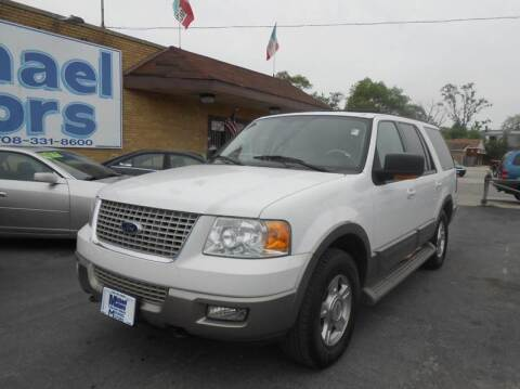 2003 Ford Expedition for sale at Michael Motors in Harvey IL