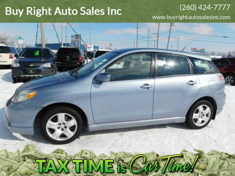 2005 Toyota Matrix for sale at Buy Right Auto Sales Inc in Fort Wayne IN