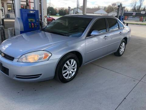 2006 Chevrolet Impala for sale at JE Auto Sales LLC in Indianapolis IN