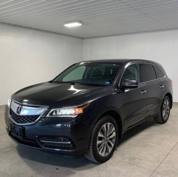 2014 Acura MDX for sale at AH Ride & Pride Auto Group in Akron OH