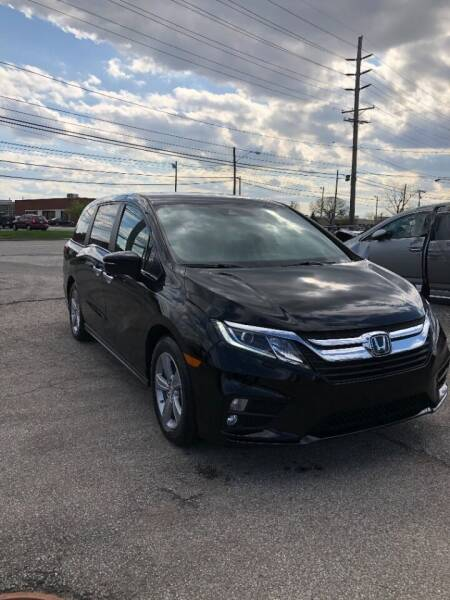 2018 Honda Odyssey for sale at 1st Class Imports LLC in Cleveland OH
