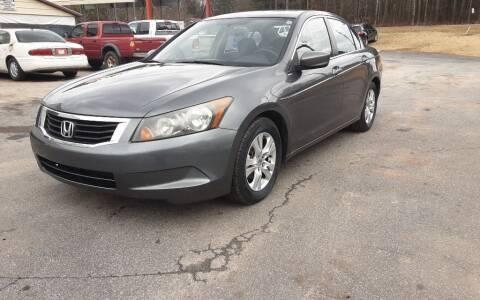 2010 Honda Accord for sale at Mathews Used Cars, Inc. in Crawford GA